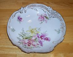 Vintage Bavarian China Germany decorative by OnPointCollectibles