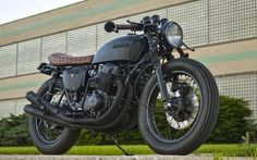 1976 HONDA CB750 - POWDER MONKEYS - INAZUMA CAFE RACER