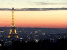 The Eiffel Tower in the early evening. Photo by Brian Kaylor.