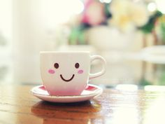 Sipping out of this would make me smile.