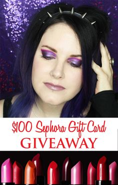 $100 Sephora E-Card Giveaway! Ends Feb. 9, 2016.
