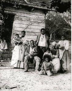 Freed Slave Family Beaufort South Carolina