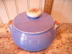 VTG HALLu0027S CADET BLUE SUPERIOR QUALITY KITCHENWARE ROSE PARADE GREASE/DRIP  DISH #HALL
