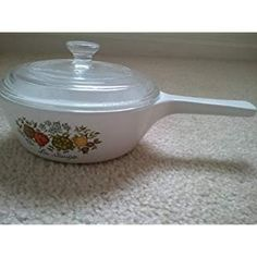 Vintage Corning Ware Spice of Life La Sauge Sauce Pan with Handle and Lid Pint) Saucepans, Spices, Image Link, Handle, Vintage, Little Cottages, Salvia, Spice