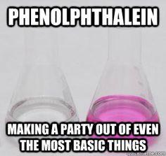 hahaha I'm such a sucker for chemistry puns! Chemistry Puns, Teaching Chemistry, Science Memes, Funny Science, Nerd Jokes, Math Jokes, Nerd Humor, Biology Humor, Grammar Humor