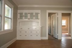 greige: interior design ideas and inspiration for the transitional home : 1916 House remodel.. a little before and after
