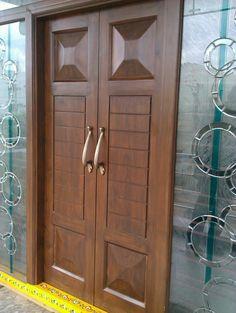 Fancy Interior Wooden Gate Designs Photos - Wooden - Home Garden Decoration Wooden Gate Designs, Wooden Front Door Design, Main Entrance Door Design, Double Door Design, Wooden Double Doors, Modern Wooden Doors, Wooden Front Doors, Modern Front Door, Wood Doors
