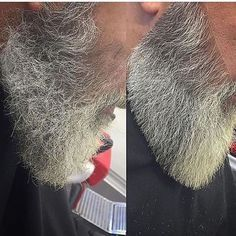How To Trim Your Beard Like A Master Barber - Christmas Deesserts Grey Beards, Long Beards, Beard Styles For Men, Hair And Beard Styles, Trimming Your Beard, Trim Beard How To, Beard Tips, Beard Ideas, Beard Game