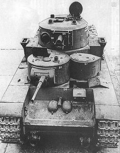T-35 front view #worldwar2 #tanks