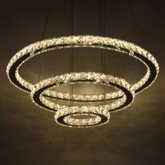 Modern LED Crystal Chandelier Lights Lamp For Living Room Cristal Lustre Lighting Pendant Hanging Ceiling Fixtures. Click visit to buy Ring Chandelier, Crystal Chandelier Lighting, Chandelier For Sale, Modern Chandelier, Pendant Lamp, Ceiling Chandelier, Ceiling Pendant, Luxury Chandelier, Led Ceiling Lights