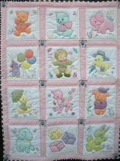 Best representation descriptions: Related searches: Baby Quilt Patterns,Baby Boy Quilt,Baby Quilts to Make,Baby Girl Quilts,Easy Baby Quilt. Quilt Baby, Cot Quilt, Baby Quilt Patterns, Baby Girl Quilts, Girls Quilts, Applique Patterns, Applique Quilts, Children's Quilts, Quilting Projects