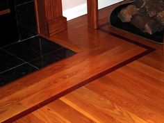Wood Floors with inset border