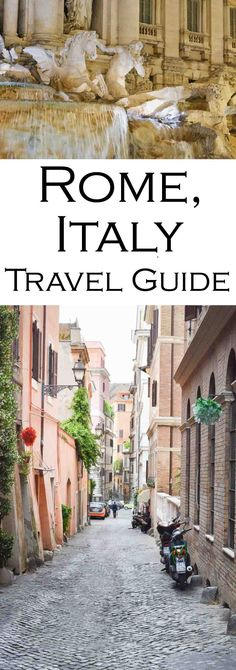 Rome Travel Guide #rome #roma #italy #rometravel #italytravel #trevifountain #travelblog #travelblogger #italia
