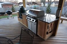 outdoor kitchen grills weber