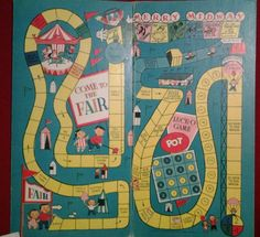 Vintage 1960s Saafield ARTCRAFT Come to The Fair Board Game | eBay