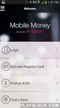 mobile money by t mobile android app playslackcom the companion to the t mobile visa prepaid card the mobile money app is a revolutionary new way to - T Mobile Visa Prepaid Card