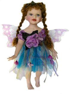 Fairy Porcelain Dolls-Fairy Dolls-Angel Porcelain Dolls-FAIRY Porcelain Doll By Cathay Collection-Kasia