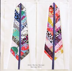 Woohoo loveliness! Excellent paper-pieced feathers by Anna Maria Horner.