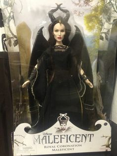 Disney Maleficent 2014 Angelina Jolie Royal Coronation Collectors Doll