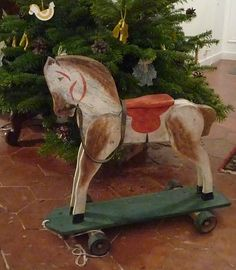 Cheval a roulettes
