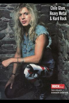 Ted Poley vocalist of Danger Danger Best Albums, Heavy Metal Bands, Rock Music, Hard Rock, Rock N Roll, Make Me Smile, Ted, Blues, T Shirts For Women
