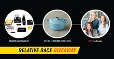 I entered the Relative Race + HowDoesShe #giveaway for a chance to win awesome #kitchen #cooking prizes!