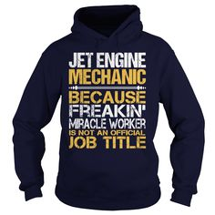 Awesome Tee For Jet Engine Mechanic T-Shirts, Hoodies. GET IT ==► https://www.sunfrog.com/LifeStyle/Awesome-Tee-For-Jet-Engine-Mechanic-96891877-Navy-Blue-Hoodie.html?id=41382