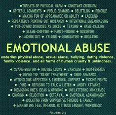 Emotional abuse is as damaging as physical abuse, if not more. Emotional abuse underlies every other kind of abuse there is. Trauma, Verbal Abuse, Emotional Manipulators, Signs Of Emotional Abuse, Emotional Child, Narcissistic Sociopath, Narcissistic Personality Disorder, Narcissistic Behavior, Frases