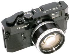 Canon P - sometimes considered to be the most beautiful camera in the history.