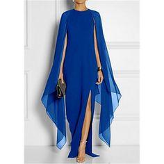 49c35a57095a Per donna Taglie forti Elegante Tubino Vestito - Spacco