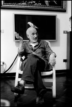Elliott Erwitt :: Gianni Berengo Gardin, Milan, Italy, 2005. ...two great photographer <3 <3