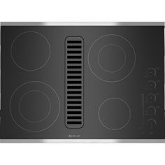 "Not exactly it, but close...Jenn-Air Induction Electric Cooktop with Downdraft | Jenn-Air JED4430WS 30"" Electric Radiant Downdraft Cooktop Stainless ..."
