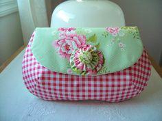 Tilda fabric makeup bag
