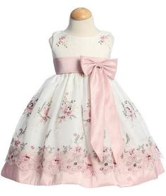 Great for Easter Organza Dusty Rose - great prices on special occasion dresses