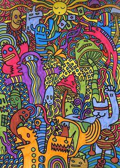 Hippie Wallpaper, Trippy Wallpaper, Retro Wallpaper, Screen Wallpaper, Wallpaper Quotes, Bedroom Wall Collage, Photo Wall Collage, Collage Art, Psychedelic Drawings