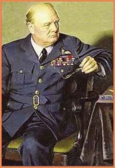Winston Churchill --  Britain's Greatest Wartime Leader and PM
