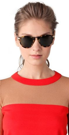 You can never have too many pairs of sunnies! Karen Walker Helter Skelter Sunglasses