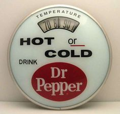 1960 Dr Pepper thermometer