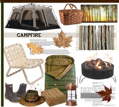"""""""60-Second Style: Campfire"""" by helenevlacho on Polyvore"""