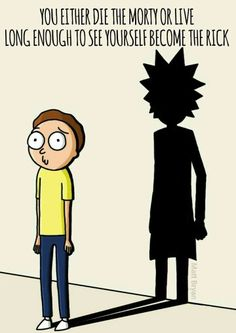 R&M philosophies... Rick And Morty Philosophy, Rick Y Morty, Rick And Morty Poster, Rick And Morty Tattoo, Wattpad, Fan Art, Cartoon, Geek Stuff, Gusto