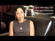 How to use light therapy for depression or to adjust your circadian rhythm. Great for #SAD