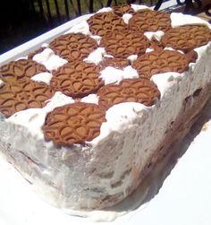 Παγωτό τούρτα με μπισκότα
