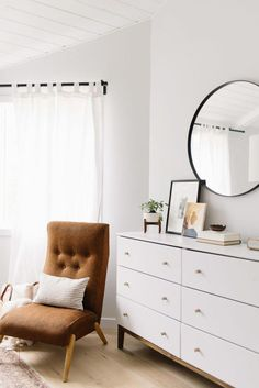 Serene and Simple: Our Master Bedroom Refresh - Kristina Lynne Small Room Bedroom, Master Bedroom Design, Home Decor Bedroom, Modern Bedroom, Eclectic Bedrooms, Bedroom Ideas, Eclectic Lamps, Boy Bedrooms, Bedroom Designs