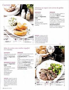 Revista bimby 2011.10 n11 Meat, Dinner, Cooking, Cake, Recipes, Drink, Food, Sweet Recipes, Illustrated Recipe
