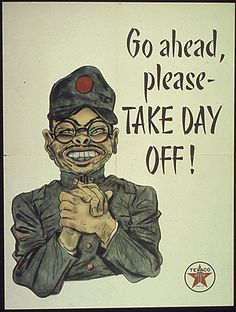 More [WWII] Anti-Japanese [Racist] Propaganda, Early 1940s - Imgur