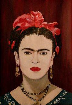 Marga Grima (Gallery): Frida Kahlo (Yo te cielo)