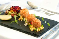 Crab bon bons #beaucliffes #deliciousdishes