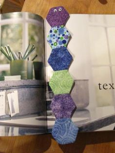 Hexagon Bookmark