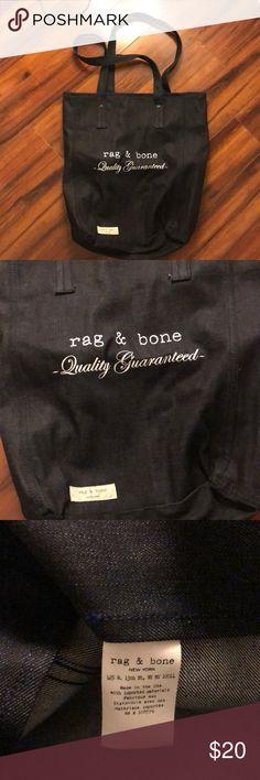 Rag & Bone denim tote Denim bag from rag & bone rag & bone Bags Totes