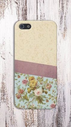 Geometric Flowers Case for iPhone 5 iPhone 5S iPhone